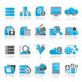 Data and analytics icons