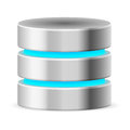 Data base icon Royalty Free Stock Image