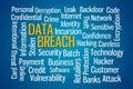 Data Breach Royalty Free Stock Photo