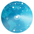 Data cd Royalty Free Stock Photo