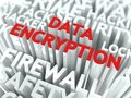 Data Encryption Concept. Royalty Free Stock Photo