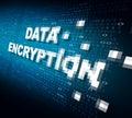 Data Encryption Royalty Free Stock Photo