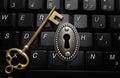 Data encryption concept Royalty Free Stock Photo