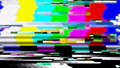 Data Glitch TV Color Bars Malfunction 11025 Royalty Free Stock Photo