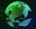 Data globe Royalty Free Stock Photo