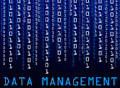 Data management Stock Image