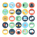 Data Science Vector Icons 2 Royalty Free Stock Photo