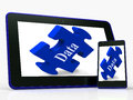 Data Smartphone Means Storing Or Mining Information