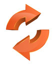 Data sync backup icon this image is a vector file representing a Stock Image