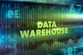 Data warehouse technology concept Royalty Free Stock Photo