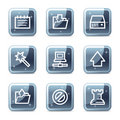 Data web icons Stock Photography
