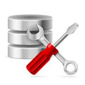 Database icon Royalty Free Stock Photo
