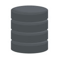 Database virtual storage Royalty Free Stock Photo