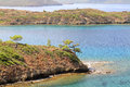 Datca Peninsula provides a natural boundary