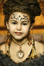Daughter shaman Royalty Free Stock Photos