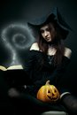 Daughter of witch Stock Photo