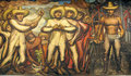 David Alfaro Siqueiros Royalty Free Stock Image