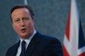 David Cameron Royalty Free Stock Photo