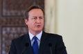 Royalty Free Stock Photography David Cameron