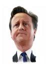 David Cameron Caricature portrait