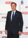 David cameron at the the uk s creative industries reception supported by the foundation forum at the royal academy of arts Royalty Free Stock Photo