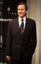 David cameron wax statue at madame tussauds in london Royalty Free Stock Images