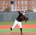 David Carroll - college baseball pitcher Royalty Free Stock Photo