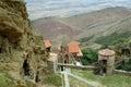 David Gareja cave monastery Kakheti. Georgia. Royalty Free Stock Photo