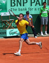 David Guez (FRA) at Roland Garros 2011 Royalty Free Stock Photos