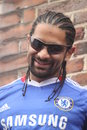David Haye - Chelsea fan Stock Photography