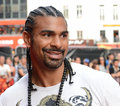 David haye world heavyweight boxing champion is a british professional boxer and current wba Stock Photography