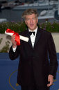 David lynch director co winner of the best director award at the closing ceremony and awards for the th cannes film festival may Royalty Free Stock Images