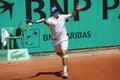 David MARRERO (ESP) at Roland Garros 2010 Stock Photos