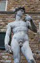 David replica close up of a of michaelangelo s in florence italy Royalty Free Stock Photo