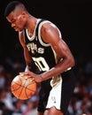David Robinson, San Antonio Spurs Royalty Free Stock Photo