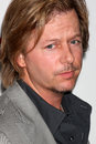 David spade arriving at the cbs fall preveiw party my house club los angeles ca september Stock Photography