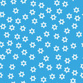 David star hanukkah seamless pattern