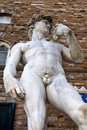 David statue in florence italy tuscany Royalty Free Stock Photos