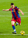 David Villa of FC Barcelona Stock Photo