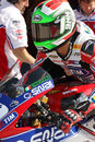 Davide Giuliano - Ducati 1098R - Althea Racing Royalty Free Stock Photo