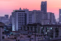 Dawn on Bangkok Royalty Free Stock Photo