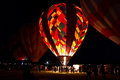 Dawn Patrol at the Great Reno Balloon Race Royalty Free Stock Photo