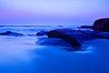 Dawn at Windansea Beach Royalty Free Stock Photo