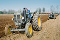 Day annual plowing with vintage tractors.