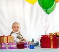 Day of birth. Royalty Free Stock Photo