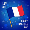 The day of the capture of the Bastille. Vector illustration for a holiday.