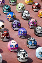 Day of the Dead Skulls 3 Royalty Free Stock Photo