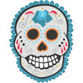Day of the Dead Sugar Skull Stock Image