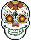 Day of the dead Sugar Skull