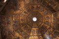 Day of Judgement Byzantine Mosaic - Florence Baptistery Cupola Royalty Free Stock Photo